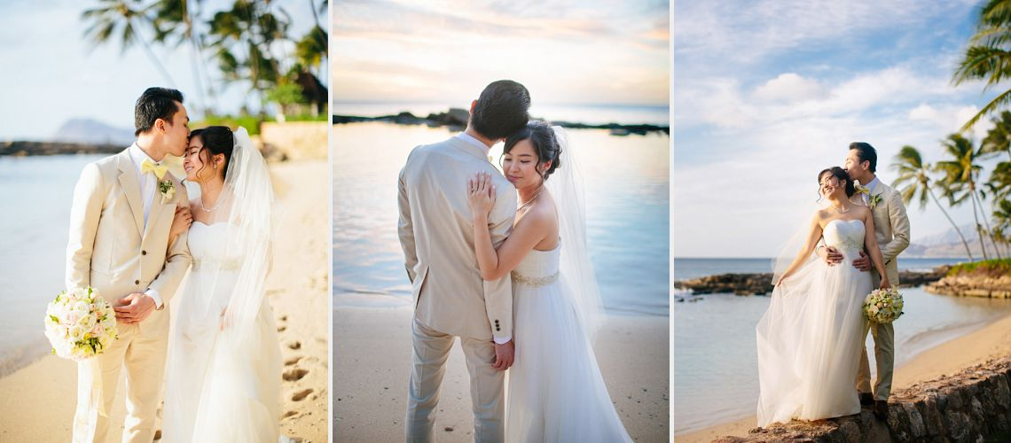 Hawaii Wedding Portrait